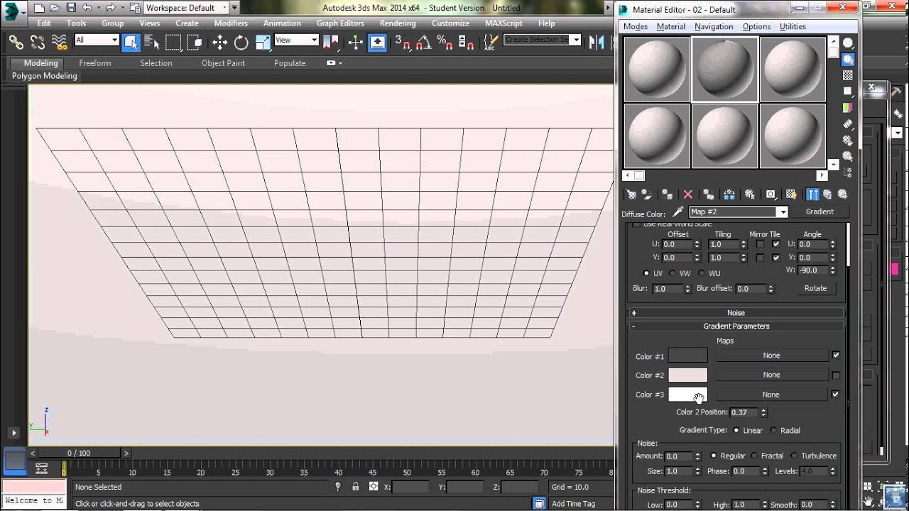 Background image 3ds max viewport - Gradient Viewport Background Tutorial