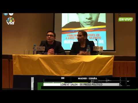 """España - Lorent Saleh: """"La tortura en mi país existe"""" - VPItv"""