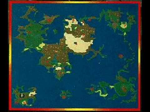 Top 100 video game music Final Fantasy 4 World Map 75 YouTube