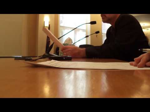 Multnomah County Citizen Involvement speech MOV00195