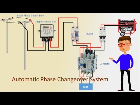Automatic Changeover Switch | Automatic Phase Changeover System | ATS