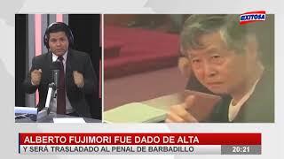 Gustavo Adrianzén conversa con Pedro Paredes sobre el caso de Alberto Fujimori