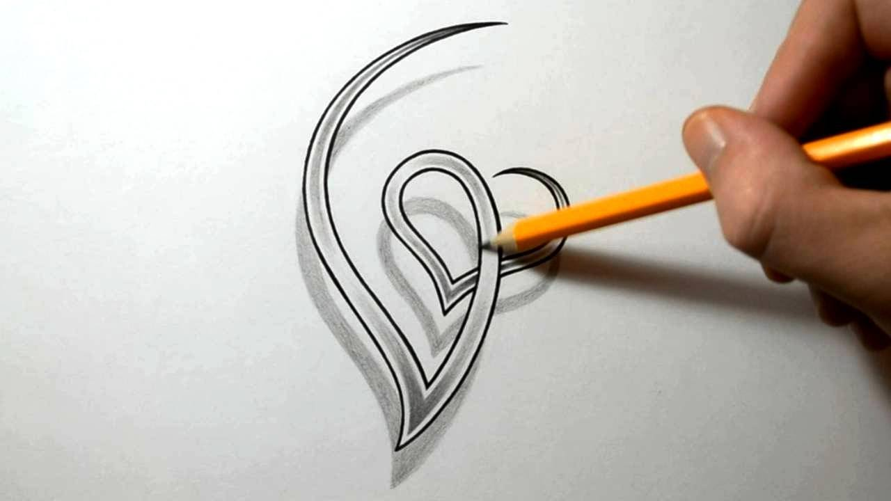 Initial G And Heart Combined Together