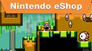 Nintendo eShop - Mutant Mudds Super Challenge Nindies@Home E3 Trailer