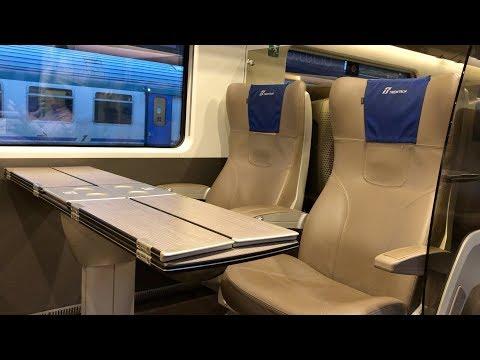 FRECCIAROSSA 1000 1st BUSINESS CLASS - BOLOGNA TO VENICE | ITALIAN HIGH-SPEED TRAIN TRIP REPORT