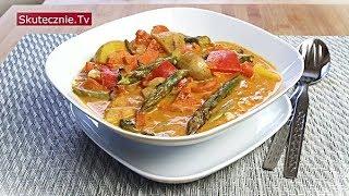 Wiosenne curry ze szparagami (warzywne lub mięsem) :: Skutecznie.Tv [HD]