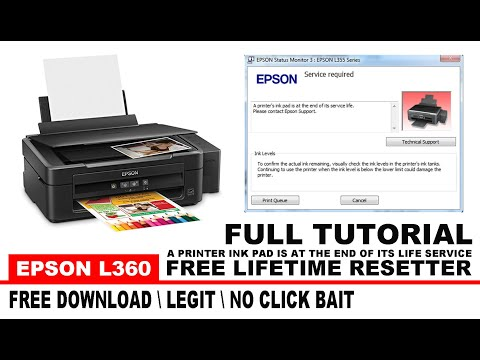 epson-l360:-service-required-  -a-printer's-ink-pad-is-at-the-end-of-its-service-life-  -solved