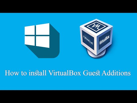 How to install VirtualBox Guest Additions on Windows 10