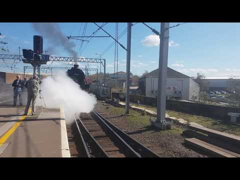 The Great Britain Tour IX 3  Steam engines  at carlisle 20/4/2018