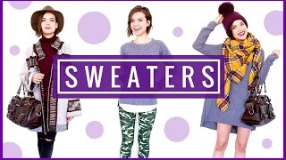 4 Ways to Style Sweaters for Winter! ◈ Ingrid Nilsen(, 2016-01-23T20:30:00.000Z)