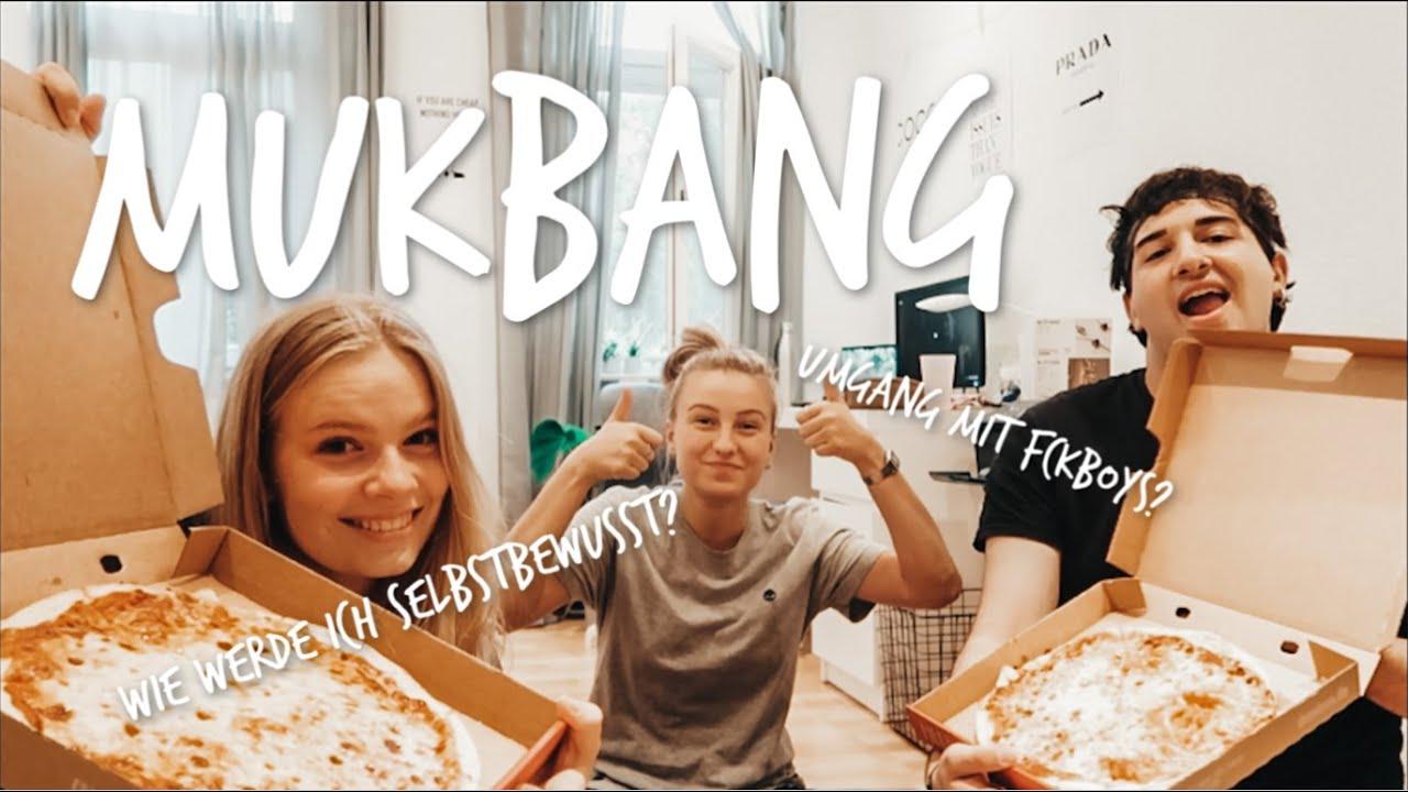 F*ckboys, Selbstbewusstsein & Instagrambilder | Mukbang feat. Evi und Oggi | Hanna Marie