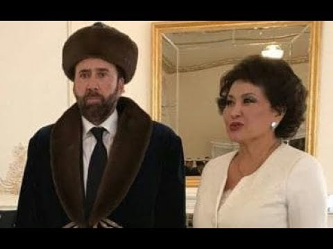 Nicolas Cage Gets Memed After Posing With First Lady Of Kazakhstan