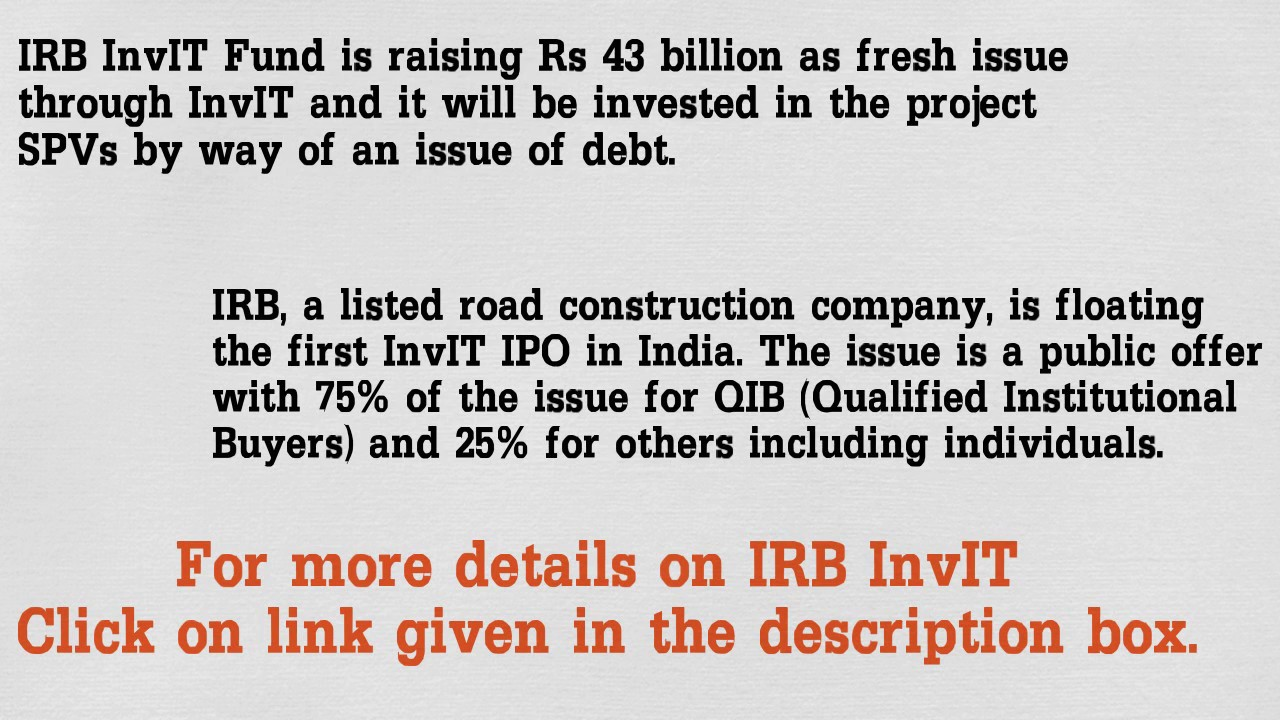 What Is Invit Infrastructure Investment Trust