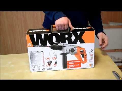 worx professional wu381 hammer drill uk english funnydog tv. Black Bedroom Furniture Sets. Home Design Ideas