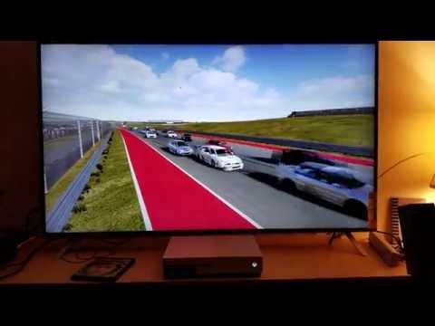Forza 6 upscaled 4k demo test : Xbox One S