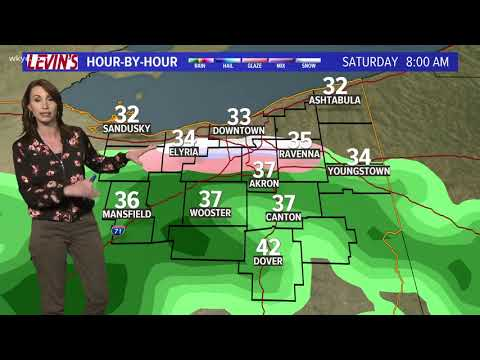 11 p.m. weather forecast for February 23, 2018