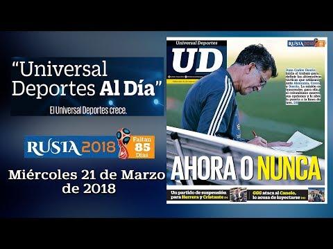 21 de Marzo de 2018 - Universal Deportes al Día