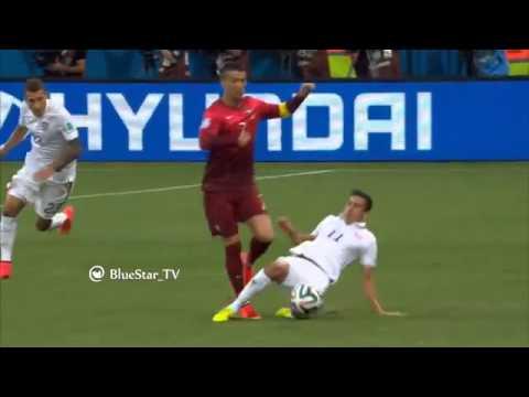مهارة كرستيانو رونالدو امام المنتخب الأمريكي في كاس العالم 2014 HD