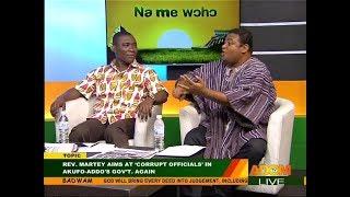 Rev. Martey aims at 'corrupt officials' - Badwam Mpensenpensenmu on Adom TV (16-10-17)