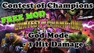 FREE! Marvel: Contest Of Champions Ver. 14.1.1 MOD APK + OBB   God Mode   1 Hit Damage @ G-Bo