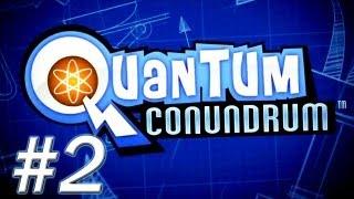 Quantum Conundrum Walkthrough - PT. 2