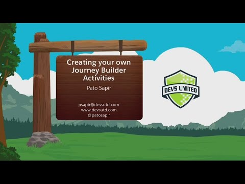 Create Your Own Journey Builder Activities
