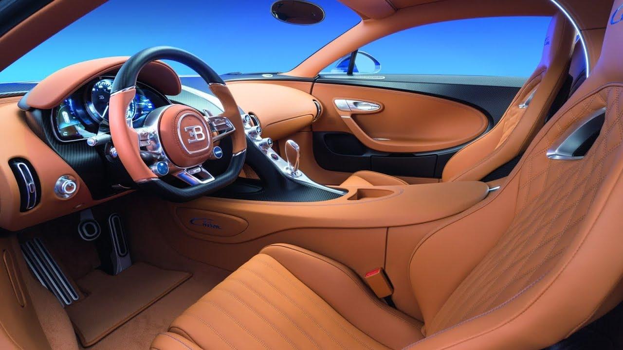 2017 bugatti interior