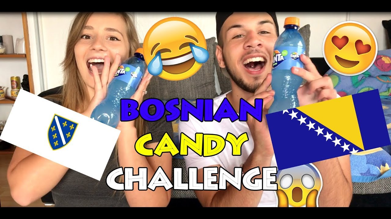 Bosnian Candy Challenge - mit meiner FREUNDIN !