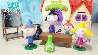 IL PICCOLO REGNO DI BEN E HOLLY in italiano, giochi per bambini; è l'ora della magia con Tata Susina