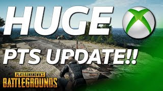 HUGE UPDATE For PUBG XBOX Test Server - Almost Everything The PC Has!!