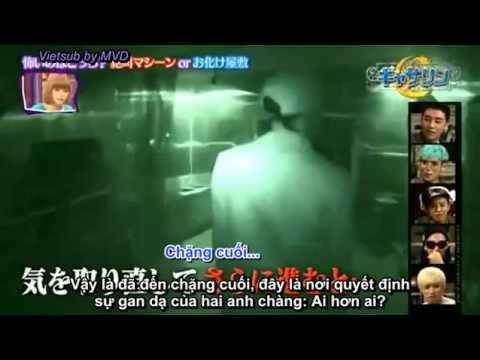 Big Bang goes to Ghost Hose | Big Bang vào nhà ma cười té ghế =)))