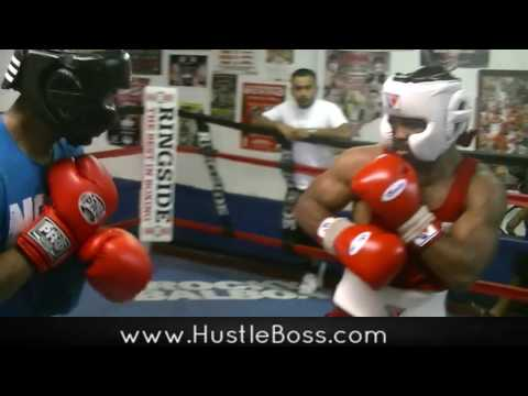 Undefeated Jeremy 'J Flash' Nichols Sparring Alex 'ATG' Thiel At Johnny Tocco's
