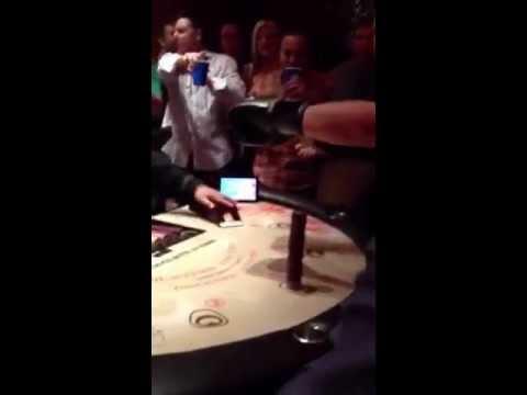 One Blackjack hand for $10,000