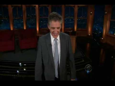 Craig Ferguson talks about David Letterman on the Late Late Show
