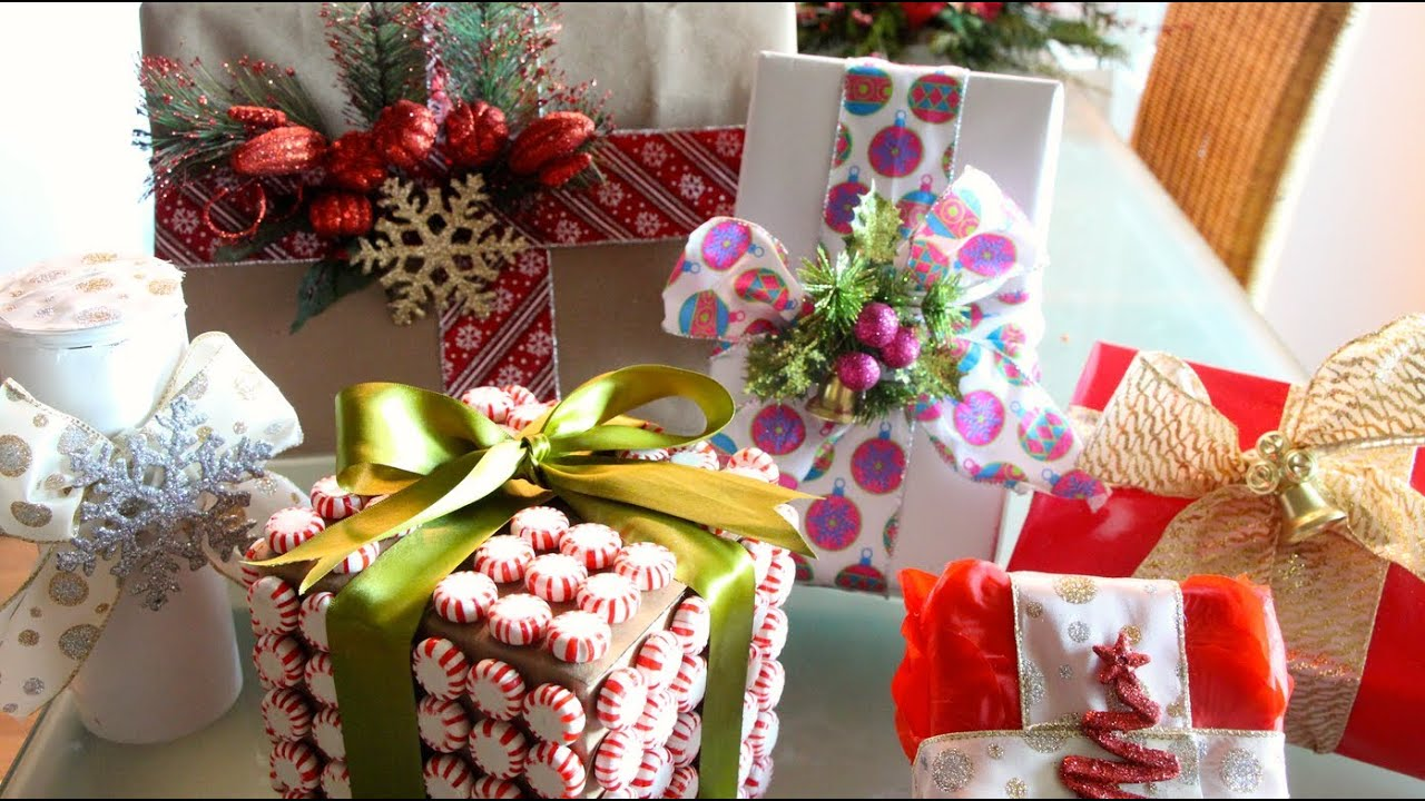 Fun creative gift wrapping ideas youtube negle Image collections