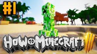 """Minecraft HOW TO MINECRAFT 3 """"THE WAR BEGINS"""" Episode 1 w/ Woofless"""