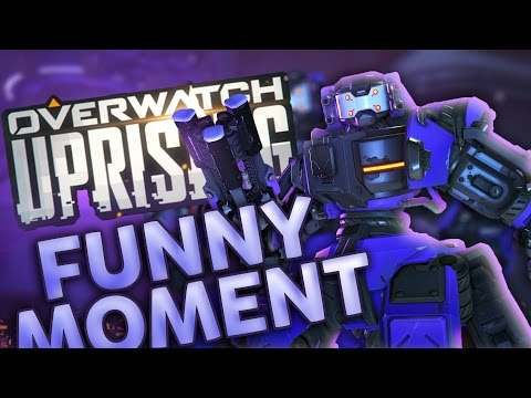 I'm A Robot! (Overwatch Uprising Funny Moment)