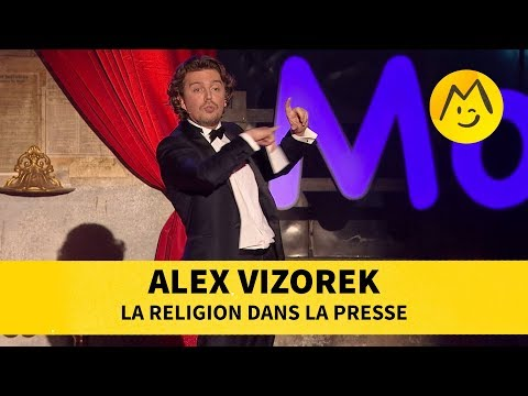 La religion dans la presse - Alex Vizorek