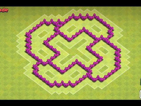 Clash Of Clans - Town Hall 6 (TH6) War Base
