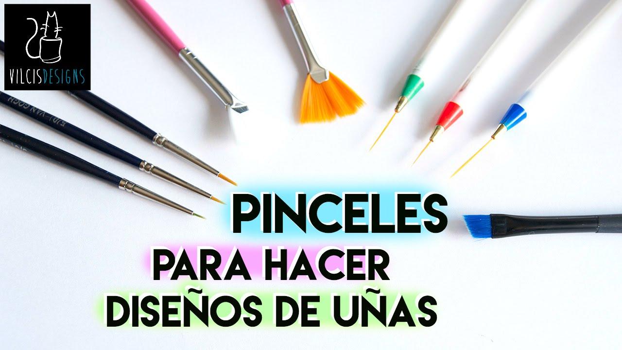 Pinceles Para Hacer Diseños En Las Uñas Nail Art Brushes