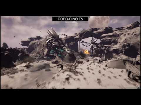 robo dino ev (Unreal engine4) Realtime environment
