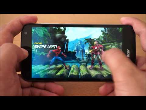 Game test  Acer Liquid Z630 [TH]