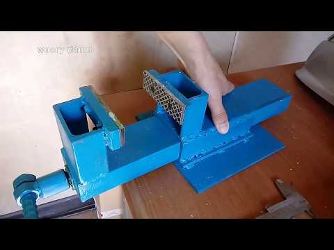 metal bench vice DIY