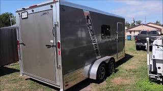 Cargo Trailer Camper Conversion Build Intro. Spray Foam, Mini Split