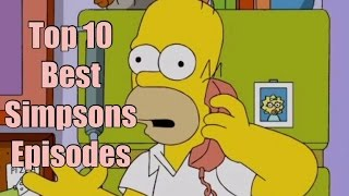 Top 10 Best Simpsons Episodes