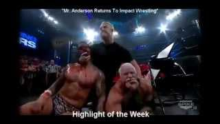 Tna Impact Wrestling ( The best return of Mr Anderson in army jeep) Destroy immortal