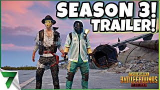 NEW SEASON 3 TRAILER! NEW SKINS, NEW EMOTES & MORE!! | PUBG Mobile