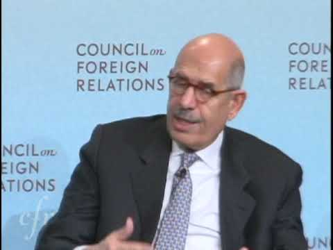 Mohamed ElBaradei at CFR: A World Free of Nuclear Weapons