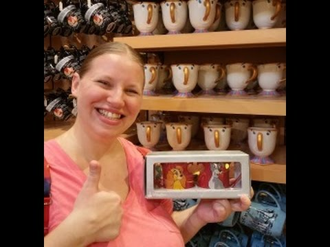 Shopping for COFFEE MUGS in the World of Disney - w/Prices!