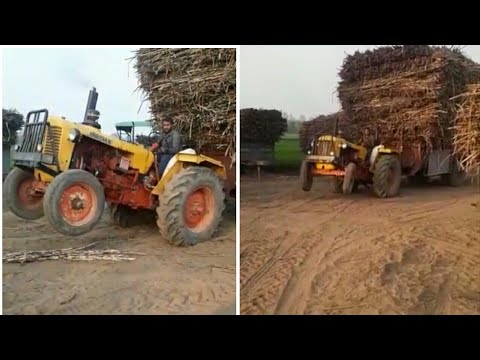 hindustan tractor vs full loaded tralla